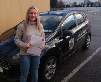 Christmas came early for Chloe Gueho passing her test first time today at the Castlemungret test centre. I trained Chloe up from day one and it´s brilliant to see her drive with such skill and confidence on the test. Well done Chloe we´re all proud of you. 🙌🙌🍾🍾🍾